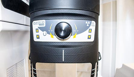 3D CBCT scanner for 3d dental x-rays